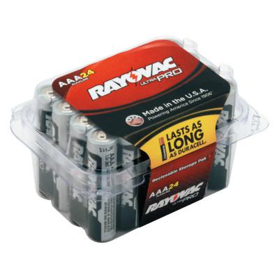 RAYOVAC Ultra Pro Alkaline Reclosable Batteries, AAA