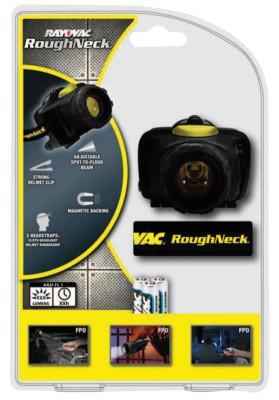 RAYOVAC RoughNeck LED Headlight, 3 AAA, 80 lumens