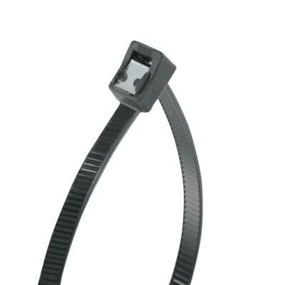 """GARDNER BENDER Self Cutting Cable Ties, 50 lb Tensile Strength, 14"""", Black, 50/Bag"""