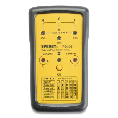 GARDNER BENDER Phase Sequence & Open Phase Indicators, 600 VAC