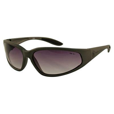 38 Special* Safety Eyewear, Smoke, Polycarbonate, Hard Coat, Black, Polycarbonate