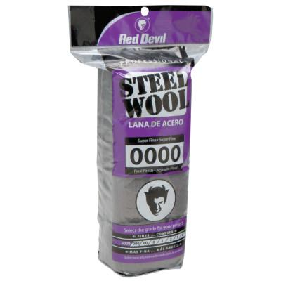 RED DEVIL Steel Wool, Super Fine, #0000
