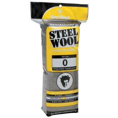 RED DEVIL Steel Wool, Fine, #0