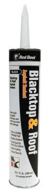 RED DEVIL Blacktop & Roof Repair Fillers, 10 oz Cartridge, Black