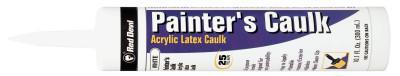 RED DEVIL Painter's Caulk, 10.1 oz Cartridge, White