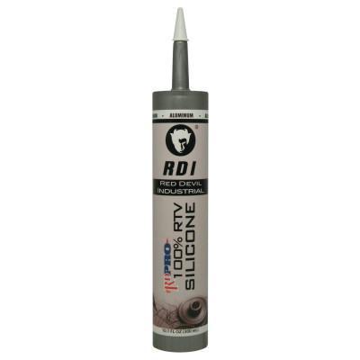 RED DEVIL RD PRO Industrial Grade RTV Sealants, 9 oz Cartridge, Gray