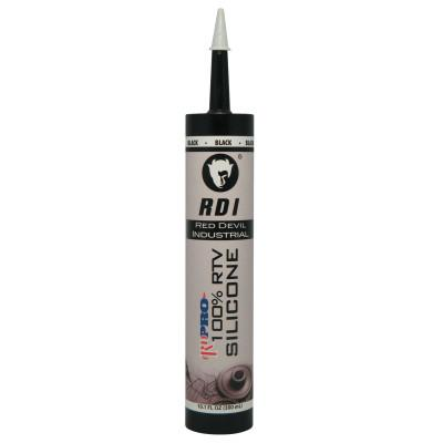 RED DEVIL RD PRO Industrial Grade RTV Sealants, 9 oz Cartridge, Black