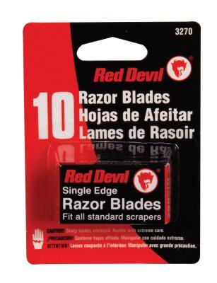 RED DEVIL RAZOR BLADES SINGLE EDGE