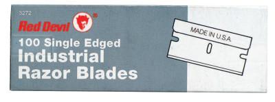 RED DEVIL SINGLE EDGE RAZOR BLADES; Single Edge Razor Blades