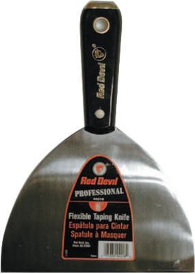 RED DEVIL 4200 Professional Series Wall Scraper/Spackling Knife, 5 in Wide, Flexible Blade