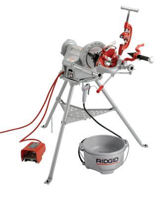 RIDGID Model 300 Power Threading Machine, 1/8 in to 2 in Pipe Capacity