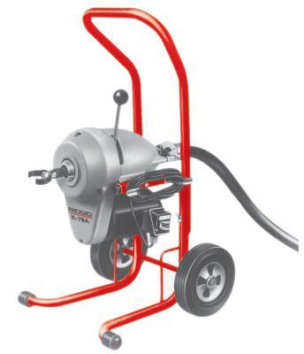 RIDGID Model K-1500A Drain Cleaners, 710 rpm, 2 in-8 in Pipe Dia.,