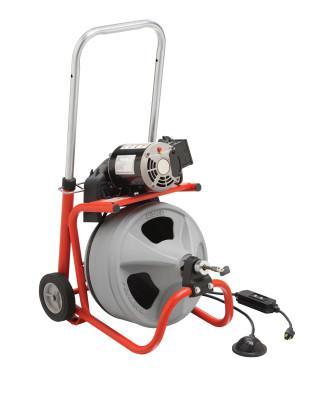 RIDGID Model K-400 Drain Cleaners, 1,725 rpm, 2 in-4 in Drain