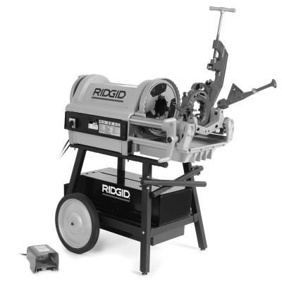 RIDGID Model 1224 Power Threading Machine, 1/2 in to 4 in (NPT) Pipe Capacity
