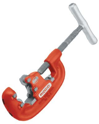 RIDGID 4-Wheel Pipe Cutters, 3/4 in-2 in Cap., For Steel Pipe