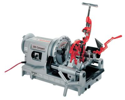 RIDGID Model 300 Compact Power Threading Machine, 1/8 in to 2 in (NPT) Pipe Capacity