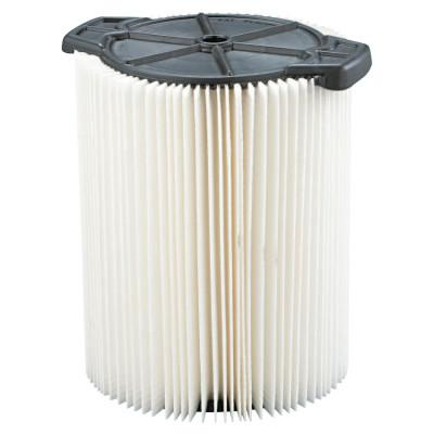 RIDGID Wet/Dry Vacuum Dust Filter, For Ridgid Wet/Dry Vacs 5 Gallons and LargerWD1450