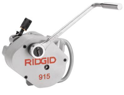 RIDGID Portable Roll Groover, 915 w/2-6 Sc. 10, 2-3.5 Sch. 40