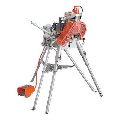 RIDGID 920 Portable Roll Groover w/2-6 Sch. 40, 8-12 Sch. 40 and 14-16 Std Wall Rl Sets