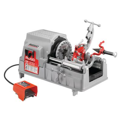 RIDGID Model 535 Power Threading Machine, 1/8 in to 2 in (NPT) Pipe Capacity