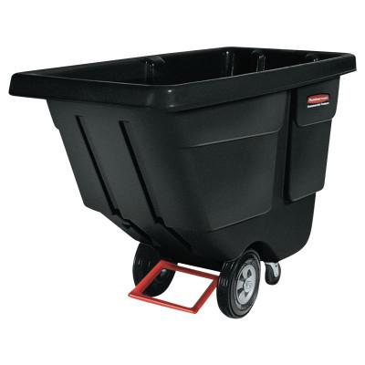 RUBBERMAID COMMERCIAL Tilt Trucks, 2 yd3, 1,900 lb