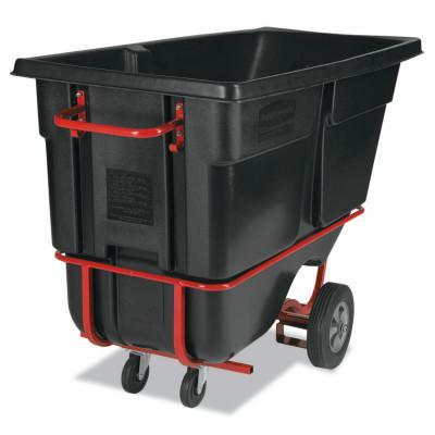 RUBBERMAID COMMERCIAL Forkliftable Tilt Trucks, 1 yd3, 1,250 lb