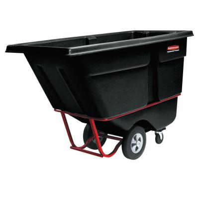RUBBERMAID COMMERCIAL Tilt Trucks, 1 yd3, 1,250 lb