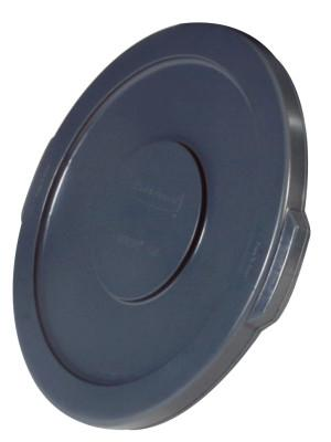 RUBBERMAID COMMERCIAL Brute Round Container Lids, For 10 Gal. Brute Round Containers, 16 in