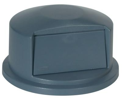 RUBBERMAID COMMERCIAL Brute Dome Tops, For 32 Gal. Brute Round Containers, 22 11/16 in