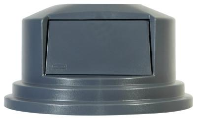 RUBBERMAID COMMERCIAL Brute Dome Tops, For 55 Gal. Brute Round Containers, 27 1/4 in