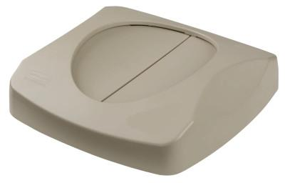 RUBBERMAID COMMERCIAL Untouchable Container Tops, Swing Top, For Fits 3569-07; 3569-88,