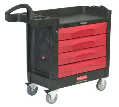 RUBBERMAID COMMERCIAL 4 DRAWER CART