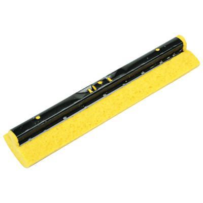 """RUBBERMAID COMMERCIAL Mop Head Refill for Steel Roller, Sponge, 12"""" Wide, Yellow"""