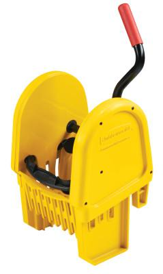 RUBBERMAID COMMERCIAL WaveBrake Down Press Wringer, Yellow