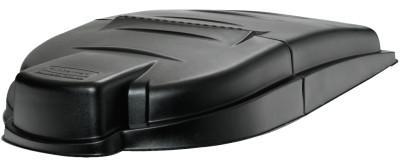RUBBERMAID COMMERCIAL Mega Brute Lids, For Mega BRUTE Mobile Waste Collector