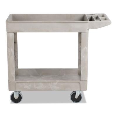 RUBBERMAID COMMERCIAL Heavy-Duty Utility Carts, 500 lb, 39 x 17.88 x 33.25, Beige