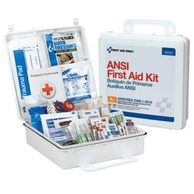 FIRST AID ONLY ANSI Compliant First Aid Kits, 50 Person, Weatherproof Plastic