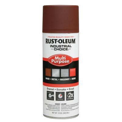 RUST-OLEUM Industrial Choice 1600 System Enamel Primer Aerosols, 12 oz, Red