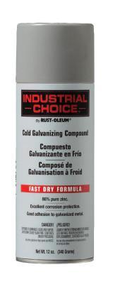 RUST-OLEUM Industrial Choice 1600 System Galvanizing Compound, 16 oz Aerosol Can