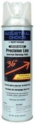 RUST-OLEUM M1600/M1800 Precision-Line Inverted Marking Paint, 16 oz, Clear