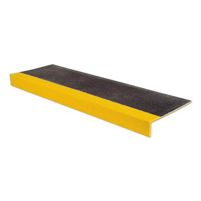 RUST-OLEUM SafeStep Anti-Slip Step Covers, 10 in x 36 in, Black/Yellow