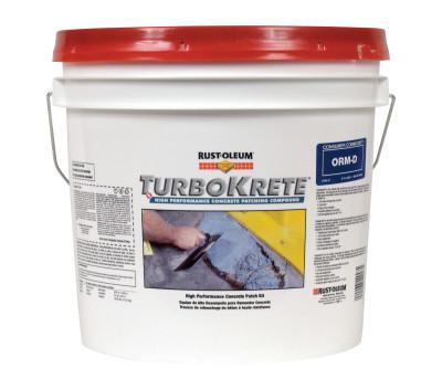 RUST-OLEUM TurboKrete Concrete Patching Compounds, 3.5 Gallon, Light Gray