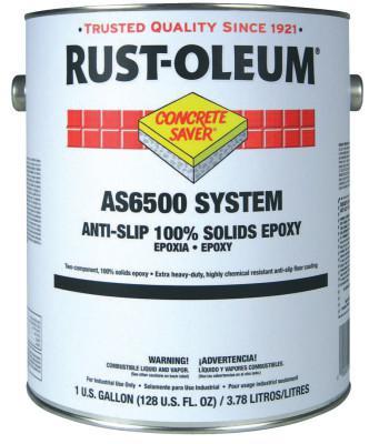 Rust-Oleum 1 Gal A-S/100%S Flr Ctng Kt Slvr Gry