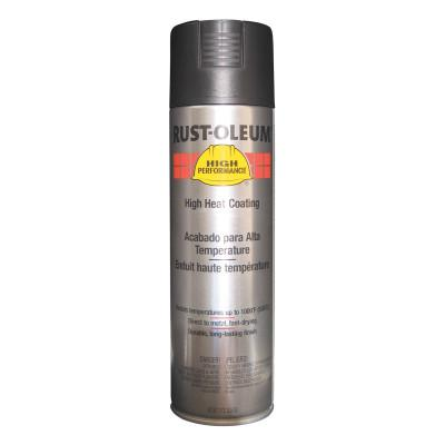 RUST-OLEUM High Performance V2100 System High Heat Coating Aerosols, 15 oz, Black