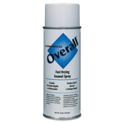 RUST-OLEUM Overall Economical Fast Drying Enamel Aerosols, 10 oz Aerosol Can, Gloss White
