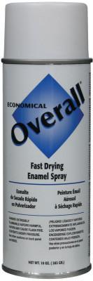 RUST-OLEUM Overall Economical Fast Drying Enamel Aerosols, 10 oz Aerosol Can, Flat White