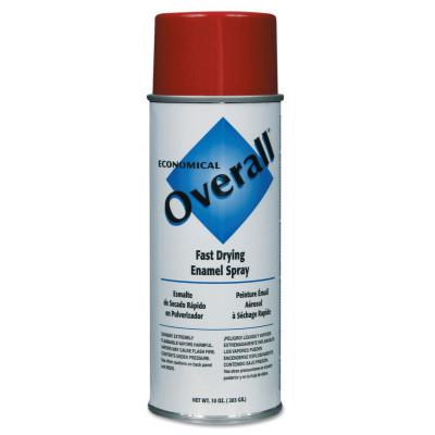 RUST-OLEUM Overall Economical Fast Drying Enamel Aerosols, 10 oz Aerosol Can, Gloss Red