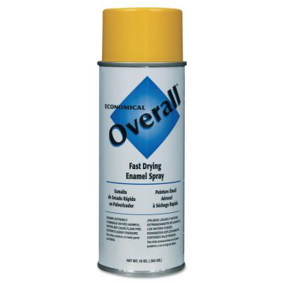 RUST-OLEUM Overall Economical Fast Drying Enamel Aerosols, 10 oz Aerosol Can, Gloss Yellow