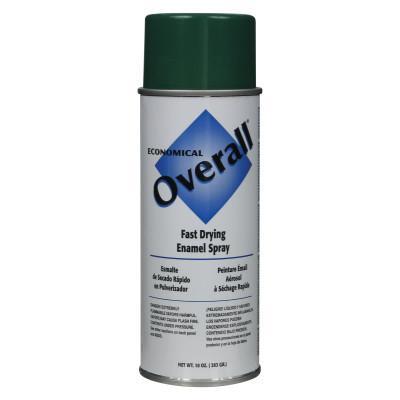RUST-OLEUM Overall Economical Fast Drying Enamel Aerosols, 10 oz Aerosol Can, Gloss Green