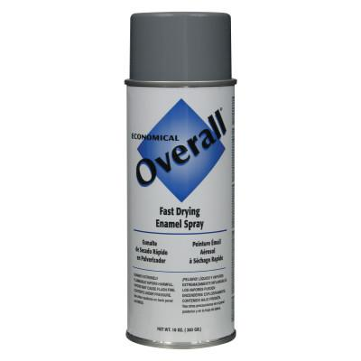 RUST-OLEUM Overall Economical Fast Drying Enamel Aerosols, 10 oz, Gloss Machine Gray